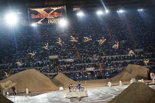 Red Bull X Fighters Řím Nate Adams
